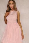 Różowa Sukienka Lawrence