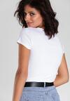 Biały T-shirt Bright Star