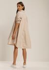Beżowa Sukienka Brogan
