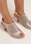 Szampańskie Sandały Feeney