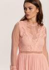 Jasnoróżowa Sukienka Lylah