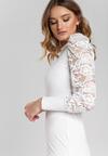 Biała Sukienka Keaton