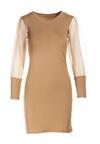 Beżowa Sukienka Mireya