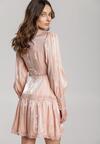 Jasnoróżowa Sukienka Jetta