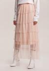 Jasnoróżowa Spódnica Thara