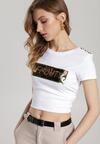Biały T-shirt Noel