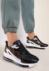 Czarne Sneakersy Kalliphaeia