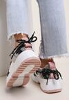 Różowe Sneakersy Nonakris