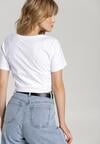 Biały T-shirt Galene
