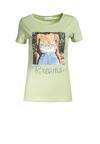 Miętowy T-shirt Dorissis