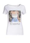 Biały T-shirt Dorissis