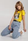 Żółty T-shirt Dorissis