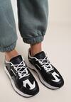 Czarne Sneakersy Alokea