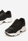 Czarne Sneakersy Eidothea