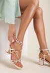 Beżowe Sandały Amphinome