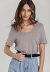 Khaki T-shirt Menithoe