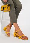 Żółte Sandały Amynope