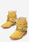Żółte Botki Delmaria