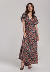 Granatowa Sukienka Maliphaia