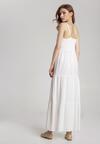 Biała Sukienka Fahey