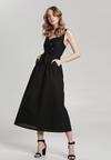 Czarna Sukienka Nadenah