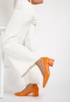 Pomarańczowe Czółenka Stellata