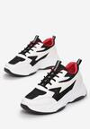 Biało-Czarne Sneakersy Mibao