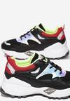 Czarne Sneakersy Collin