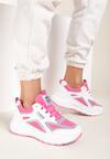Biało-Fuksjowe Sneakersy Aaron