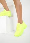 Limonkowe Sneakersy We Can Do This