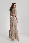 Kremowa Sukienka Nahgune