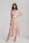 Jasnoróżowa Sukienka Driscoll