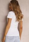 Biały T-shirt Mirasura