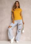 Żółty T-shirt Ariema