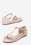 Beżowe Sandały Saphalina
