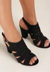 Czarne Sandały Melodina