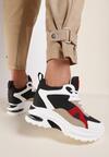 Biało-Czarne Sneakersy Annais