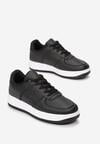 Czarne Sneakersy Coralin