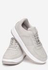 Szare Sneakersy Coralin