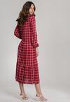 Bordowa Sukienka Rhenedoe