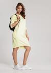 Żółta Sukienka Alcirope