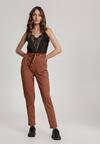 Jasnobrązowe Spodnie Moremelle