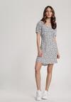 Biała Sukienka Kelagenia