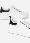 Biało-Czarne Sneakersy Loraelis
