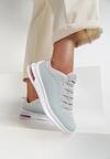 Szaro-Różowe Sneakersy Quburn