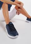 Granatowe Sneakersy Quburn