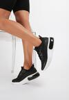 Czarne Sneakersy Qego