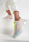 Koralowe Sneakersy Qego