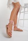 Różowe Sandały Adoreia