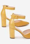Żółte Czółenka Joann